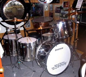 My First John Bonham Drums | Pinto and the Bean